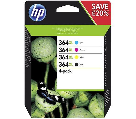HP 364 XL - Combo pack C/M/Y/K + DOPRAVA ZDARMA