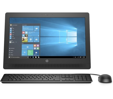 "HP ProOne 400 AiO 20"" G3900T/4G/500GB/DVD/1NBD/W10P"