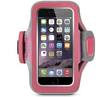 BELKIN pouzdro SLIM-FIT PLUS Armband iPhone 6/6s,fuchsiové + DOPRAVA ZDARMA