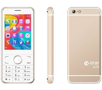 eSTAR A28 DS gsm tel. Gold