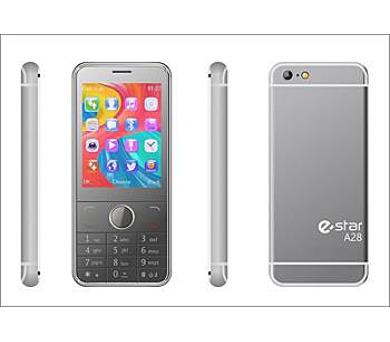 eSTAR A28 DS gsm tel. Silver