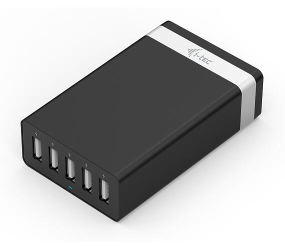 i-tec SMART USB 5 PORT CHARGER 40W / 8A