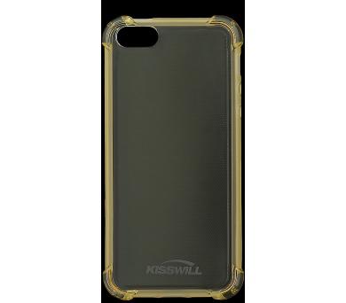 Kisswill Shock TPU Pouzdro Gold pro iPhone 5/5S/SE