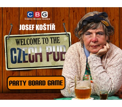 Czech pub EN/DE/CZ + DOPRAVA ZDARMA