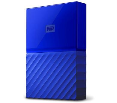 "HDD ext. 2,5"" Western Digital My Passport 3TB - modrý"