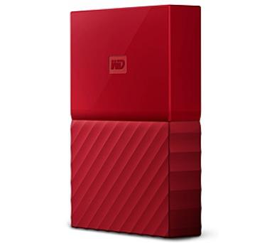 "HDD ext. 2,5"" Western Digital My Passport 3TB - červený"