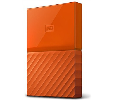 "HDD ext. 2,5"" Western Digital My Passport 1TB - oranžový"