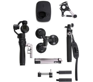 DJI OSMO - Ruční stabilizátor kamery s UHD kamerou včetně sady sportovního příslušenství