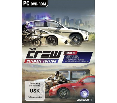 PC CD - The Crew Ultimate Edition