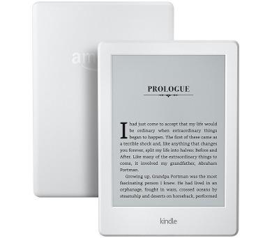 Amazon Kindle 8 TOUCH Wi-Fi verze s reklamou - bílá