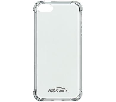 Kisswill Shock TPU Pouzdro Grey pro iPhone 5/5S/SE