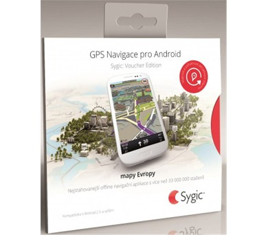 Sygic GPS Navigation + HUD+ Dash EU + DOPRAVA ZDARMA