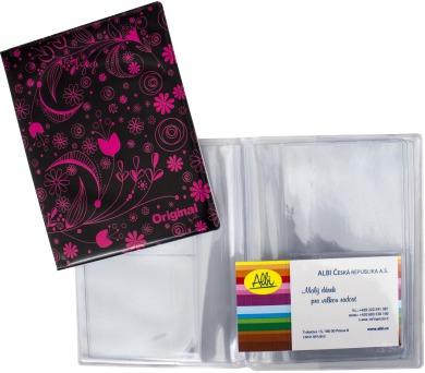 Albi Pouzdro na doklady s růžovými květy