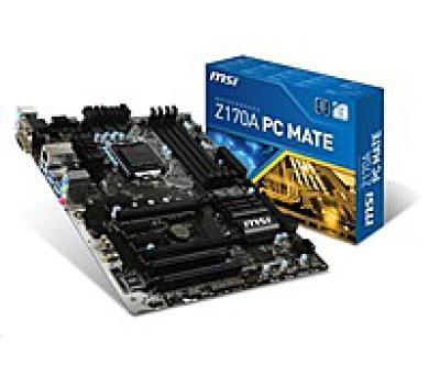 MSI MB Sc LGA1151 Z170A PC Mate