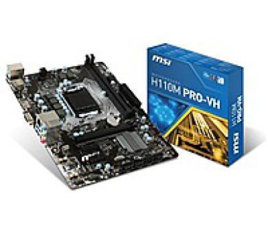 MSI MB Sc LGA1151 H110M PRO-VH