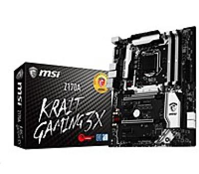 MSI MB Sc LGA1151 Z170A KRAIT GAMING 3X