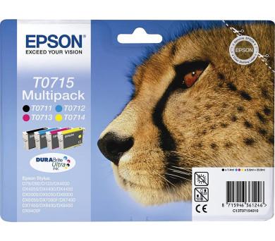 Epson Multipack 4-colours T0715 DURABrite UltraInk + DOPRAVA ZDARMA