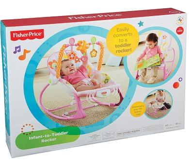 Fisher-Price BG Sedátko od miminka po batole růžové + DOPRAVA ZDARMA