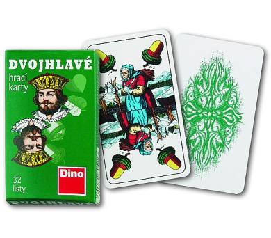 Hrací karty dvouhlavé