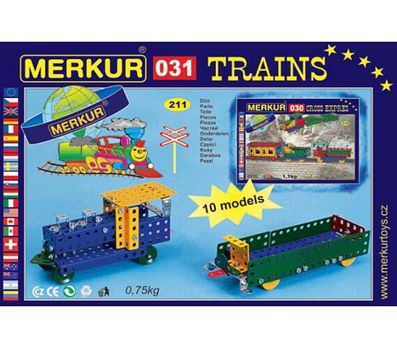 Merkur - Železniční modely + DOPRAVA ZDARMA