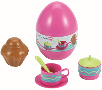 Vajíčko s jídelním setem