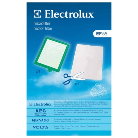 Electrolux EF55 + Mikrofiltr k Oxygen, New Clario, Excellio (foto 1)