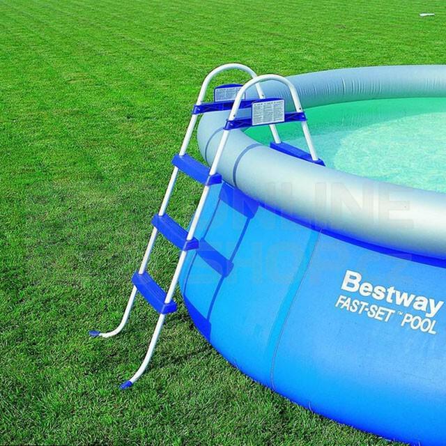 Schůdky do bazénu Marimex Tampa - výška 0,91 m (nadzemní bazény)