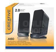 Reproduktory Creative Labs A60 2.0 - černé