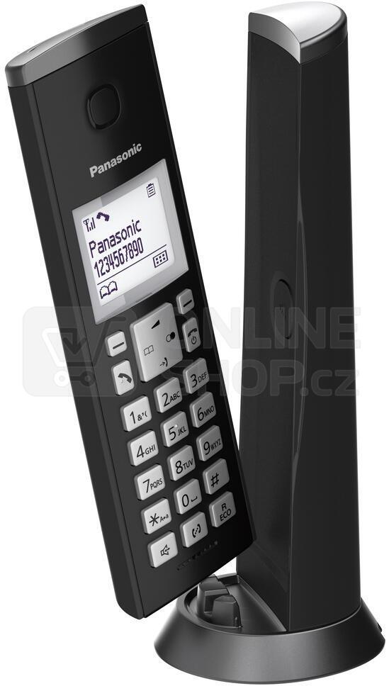 Bezdrátový stolní telefon Panasonic KX TGK210FXB DECT