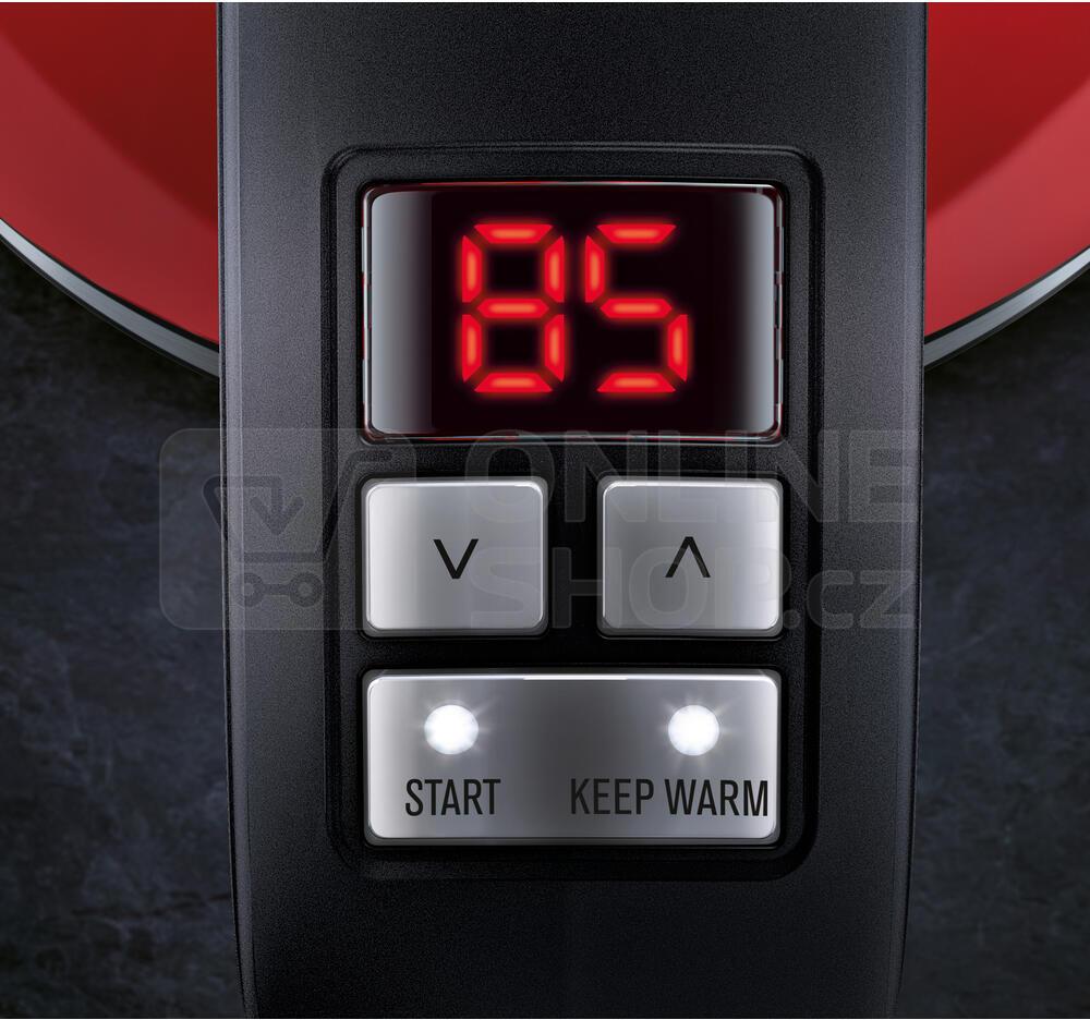 Konvice Electrolux EEWA7700R červená SMART