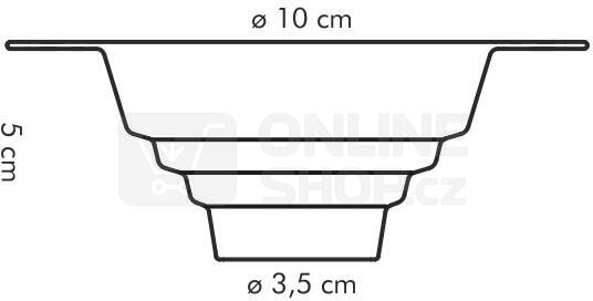 Násypka univerzální Tescoma PRESTO pr. 10 cm