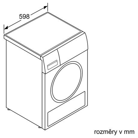 Sušička prádla Bosch WTW85480CS
