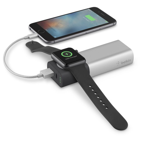BELKIN Valet Charger™ Power Pack 6700 mAh for Apple Watch + iPhone (F8J201btSLV)