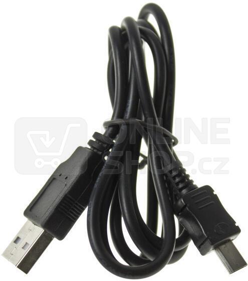 Datový kabel USB ALIGATOR microUSB nabíjecí, originální (A800DAKA)