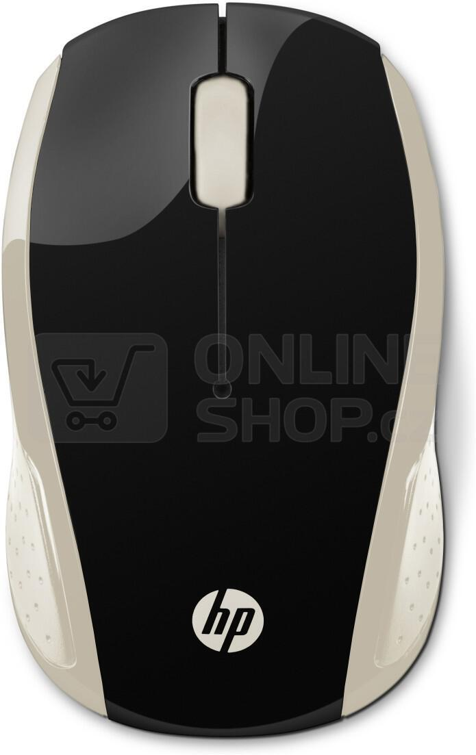 HP Wireless Mouse 200 Silk Gold) (2HU83AA#ABB)