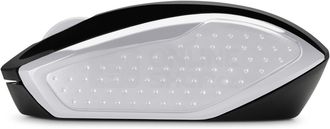 Bezdrátová myš HP Wireless Mouse 200 (Pike Silver) (2HU84AA#ABB)