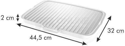 Oboustranný odkapávač Tescoma CLEAN KIT