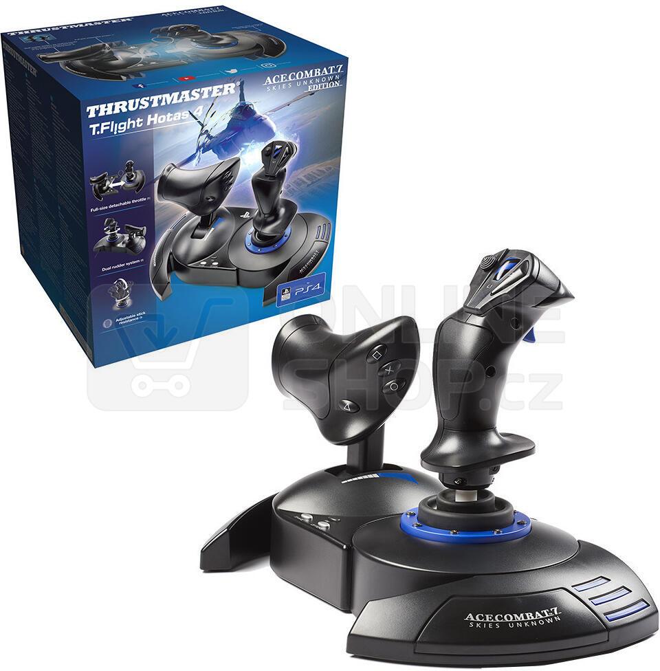 Thrustmaster Joystick T-FLIGHT HOTAS 4 pro PS4, PS5, PS4 PRO a PC (4160664)