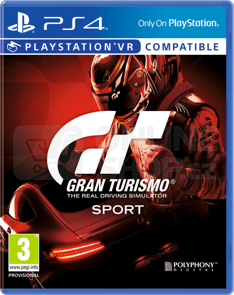Gran Turismo Sport hra PS4 Sony