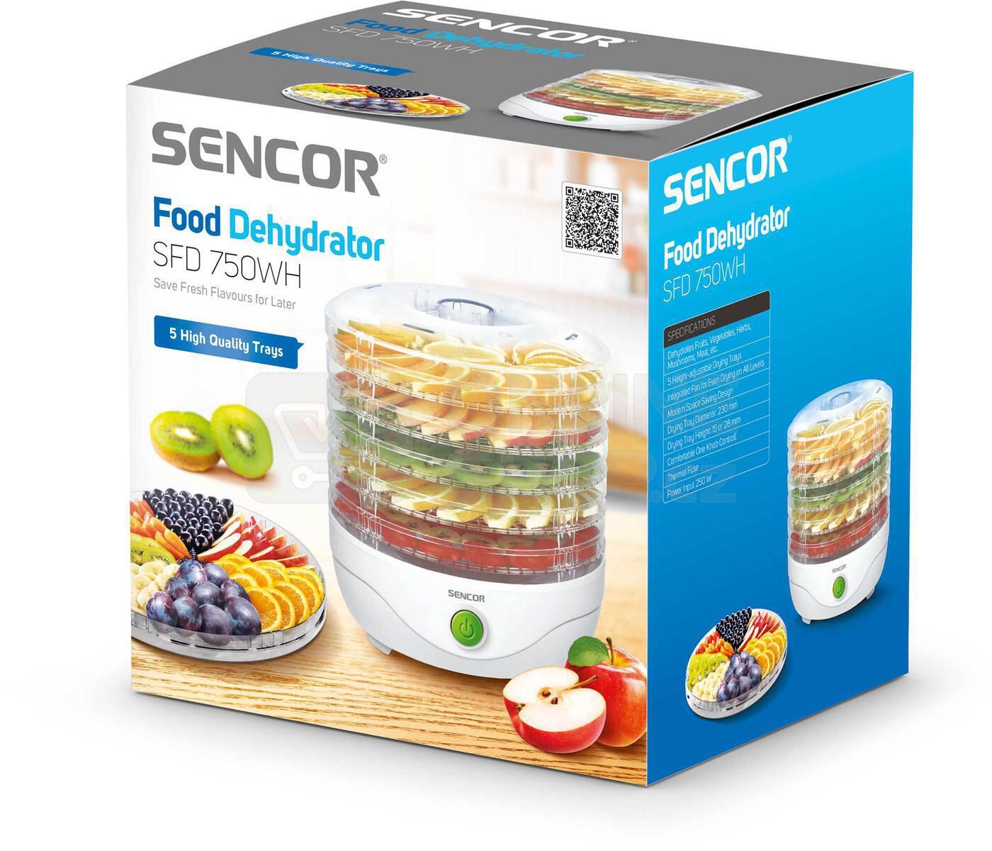 Sušička potravin Sencor SFD 750WH