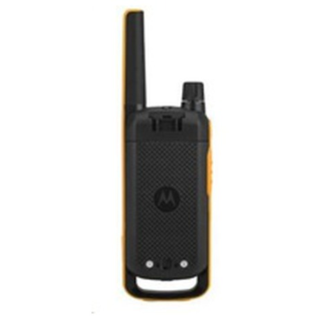 Motorola vysílačka TLKR T82 Extreme Quadpack (4 ks, dosah až 10 km), IPx4, černo/žlutá (188082)