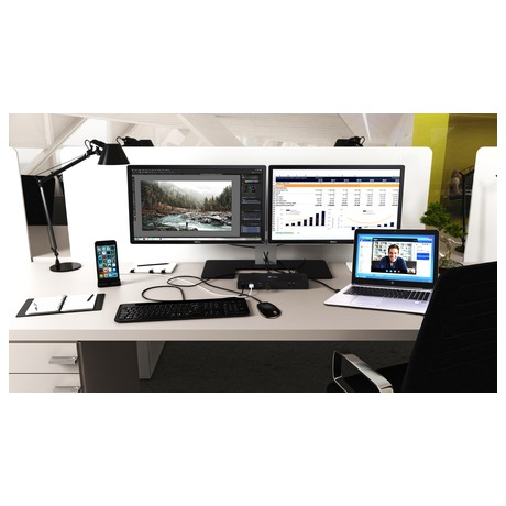 i-tec dokovací stanice USB 3.0/ USB-C 5K/ 2x 4K 60Hz video/ univerzání-dualní/ 2x HDMI/ 2x DP/ 1x LAN/ 6x USB 3.0/ audio (CADUAL4KDOCK)