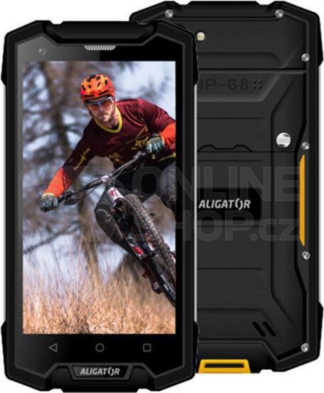 Mobilní telefon Aligator RX510 eXtremo, černý