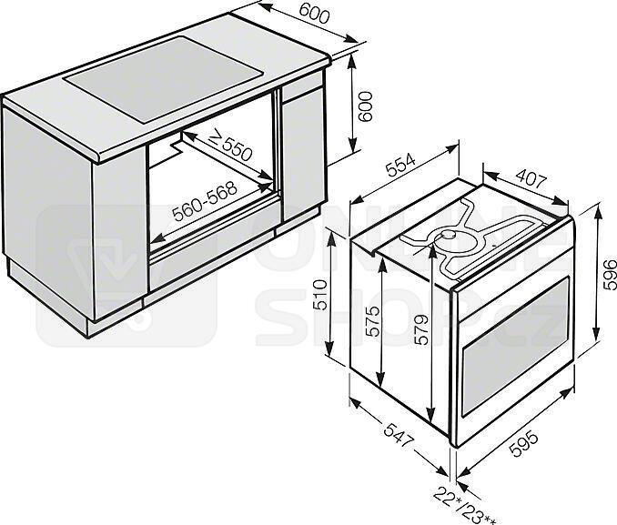 pe ic trouba miele h 6461 b. Black Bedroom Furniture Sets. Home Design Ideas