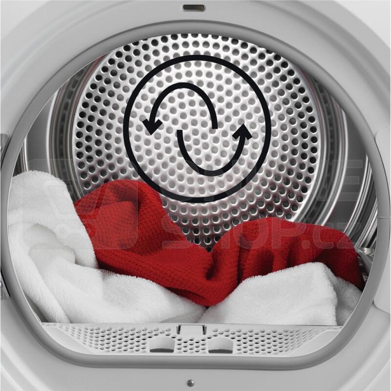 Sušička prádla AEG AbsoluteCare® T8DBG68SC