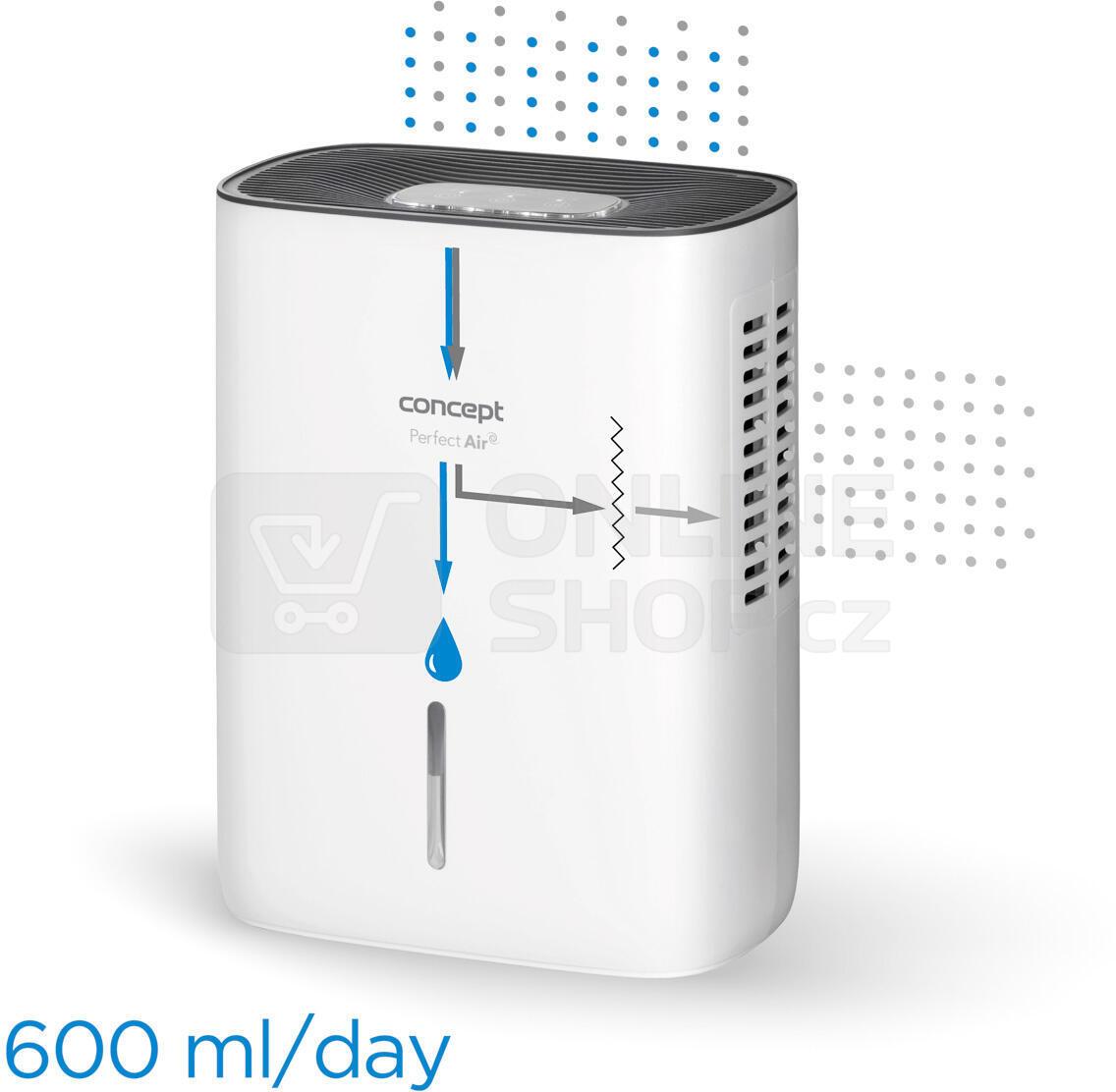 Odvlhčovač vzduchu Concept OV1000 Perfect Air
