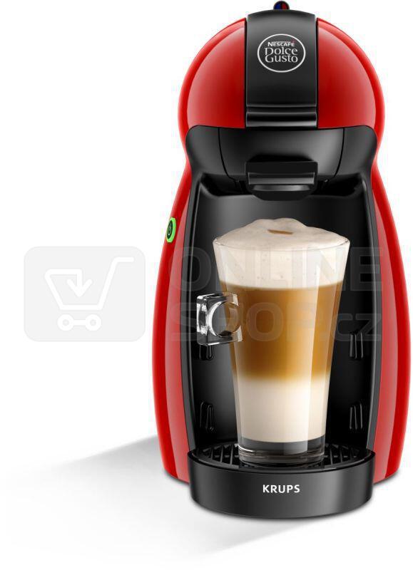 Espresso Krups KP 1006 NESCAFÉ Dolce Gusto Piccolo červené