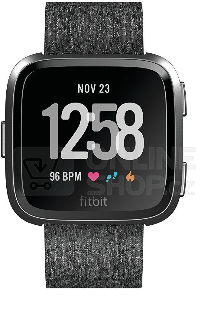 Fitbit Versa - Charcoal Woven (FB505BKGY-EU)