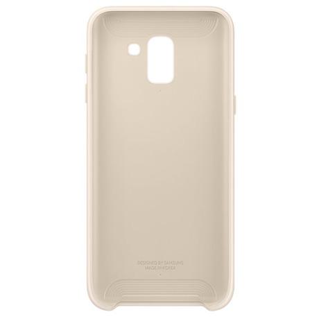 Samsung Dvouvrstvý ochranný kryt pro J6 Gold (EF-PJ600CFEGWW)