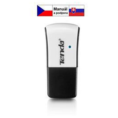 Tenda W311M WiFi N USB Adapter Mini, 150 Mb/s, 802.11 b/g/n, režimy Client, Soft AP, Win,Mac,Lin